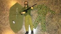 Vintage GI Joe 1964 Action Figure + Weapon and accessories