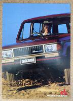 1989 Holden Jackaroo original Australian sales brochure