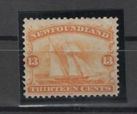 I3585/ CANADA – NEWFOUNDLAND – SCOTT # 30 MINT MH – CV 250 $