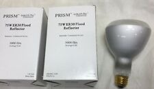 75ER30/FL 75W Elliptical Flood Lightbulb 130V 5,000hr Prism Long Life 2-pcs