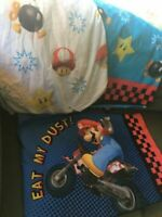 Nintendo Mario Sheets - Twin Size Bedding