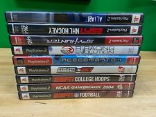 Lot of 9 PS2 Playstation 2 games - all complete with manual and in good conditio