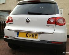 VW TIGUAN 5N 2007- CHROME Rear Trim Strip Trunk Tuning Garnish Tailgate