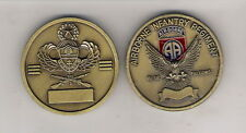 CHALLENGE COIN 82ND AIRBORNE INFANTRY REGIMENT BLUE FALCONS RARE HARD FIND