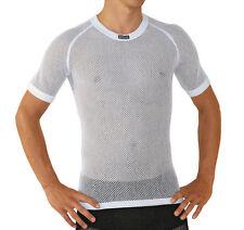 Brynje Funktionshemd T-Shirt weiss Thermohemd Meraklon Netz Funktions Unterhemd