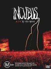 Incubus - Alive At Red Rocks (DVD, 2004) PRE OWNED VGC (Box D2)