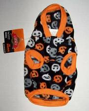 NWT Fleece Halloween Pumpkin Print Hoodie for Dog Size Small