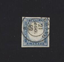 Francobollo Verano 21 Ago 62 - C2 ann. di Sard. 20 c.