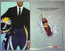 PUBLICITE ADVERTISING  2004    COCA COLA  LIGHT  LEMON
