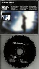 SADE Lovers LIVE RARE 3 TRK SAMPLER PROMO RADIO DJ CD Single 2002 MINT