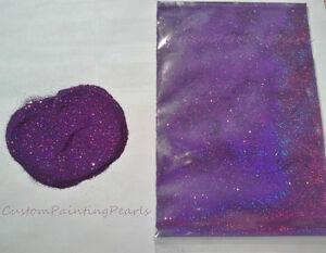 "25g DEEP PURPLE metal flake .004"" colorshift HOK Kandies PPG  Holographic paint"