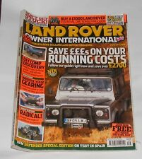LAND ROVER OWNER INTERNATIONAL AUGUST ISSUE 9 2005 - SAVING POUNDS ON YOUR COSTS