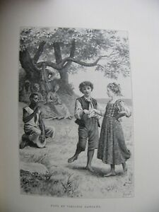 1888 PAUL ET VIRGINIE Illustrations Maurice Leloir