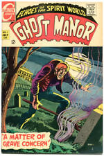 GHOST MANOR #1, FN+, Grave concern, Horror, 1968, more Charlton in store