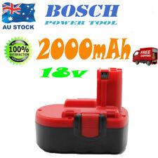 18V 2.0AH For BOSCH 2 607 335 735 PSR 18 VE-2 2607335735 Drill Cordless Battery