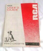 RCA ® VR678HF / VCR Video Cassette Recorder Original User's Guide