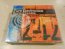 Pure Electronica Euro Classix CD Box Set (3 disc) Kinder Atom & Para Despues NEW