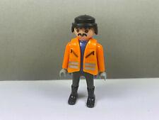 PLAYMOBIL – Personnage ouvrier de chantier / Worker / 3262 4080 4098