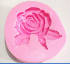 Large 3D Rose Flower Silicone Mold for Fondant, Gum Paste, Chocolate, Cake, Soap