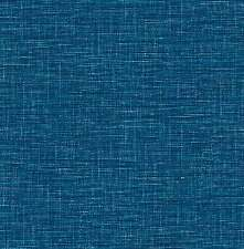 FD24120-Solstice Imitación Grasscloth Azul Oscuro Wallpaper Fine Decor
