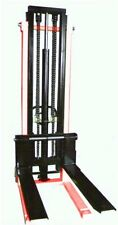 Hand Stacker Forklift 1 Ton 2.5 Meter CtyE  Hydraulic Lifter Pallet