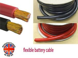 Battery, Starter Cable, Auto Marine 40mm²/300amp (1AWG) MADE IN THE UK   BAT300