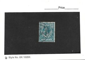 Great Britain 1912-24 George V 10d Blue Single Used