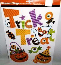 Halloween Window Clings TRICK OR TREAT