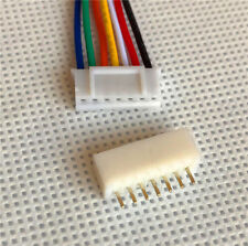 Micro JST PH 2.0mm 7 Pin Connector plug with Wires Cables 10 Sets