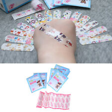 50Pcs Kids Children Cute Cartoon Band Aid Variety Different Patterns Bandages h