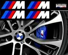 4x Logo Stickers BMW M Performance Autocollants Motorsport étrier de frein logos