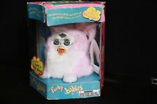Furby Babies LIGHT PINK Vintage Furby Toy 1999 Tiger Electronics NEW;damaged box