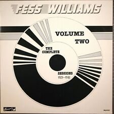 Fess Williams Vol 2 Complete Sessions 1929-1930 Harlequin HQ 2040 Dixieland Jazz