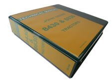 John Deere 8430 & 8630 Tractor Technical Service Repair Shop Manual Book TM-1143