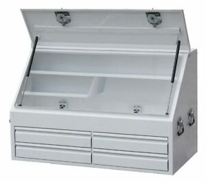 SP Tools SP40336B 4 Drawer upright industrial duty truck boxes