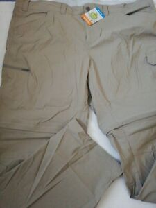 COLUMBIA OMNI-SHIELD REGULAR KHAKI PANTS Men's SIZE VARIOUS MSRP $80.00