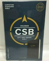 CSB Gift and Award Bible, Black by Holman Bible Holman Bible Staff