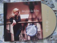 Tara Blaise – Fool For Love Label: Spokes Records SPKSCD 02 UK Promo CD Single