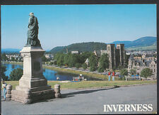 Scotland Postcard - Flora MacDonald's Statue and Inverness Cathedral  RR1660