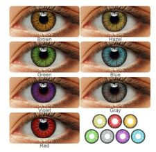 2Pcs/Pair Colored Eyes Lenses Halloween Cosplay Lenses