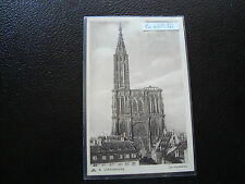 FRANCE  - carte postale 24/6/1939 strasbourg (la cathedrale) (cy65) french