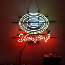 "New Green Bay Packers Yuengling Bar Neon Light Sign 19""x15"""