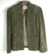 New listing Vintage A&F Originals Suede Leather Jacket Womens Size 10