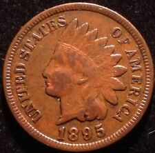 US COIN - 1895 Indian Head Cent / (pick Quarter S.1 box )