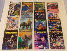 LOT OF 35 MANGAZINE (ANTARCTIC PRESS) #1-43 RUN (1986-1996) ANIME MANGA
