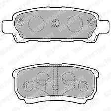 Delphi Rear Brake Pad Set LP1852 - BRAND NEW - GENUINE - 5 YEAR WARRANTY