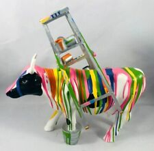 Fabulous! Cow Parade Muuuu Travies #7733 New In Box Mexico City 2006