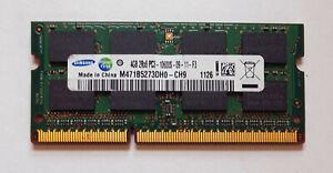 4GB DDR3 1333MHz PC3-10600S Non-ECC Laptop SODIMM RAM Memory - Crucial Samsung