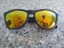 Oakley grey frame polarized mirror sunglasses. Frogskins OO9013-31.