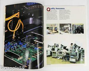 Japan Radio JRC Factory Company Profile Information Brochure Booklet 1985